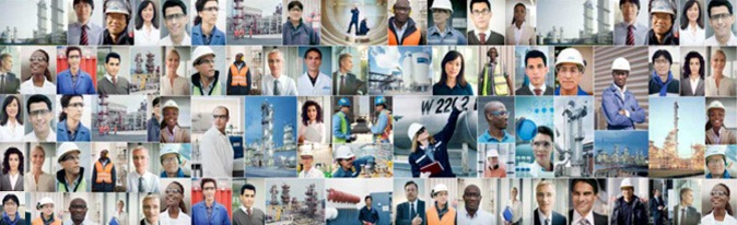 Employees of The Linde Group
